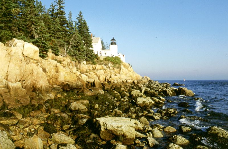 Bass Harbor Head, Maine, 10/2001