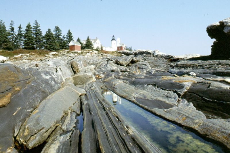 Pemaquid Point Lighthouse, Maine, 10/2001