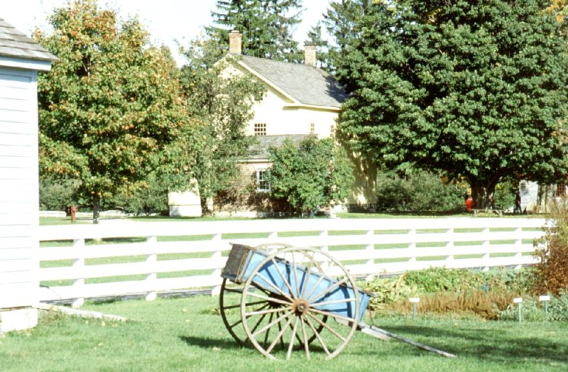 Hancock Shaker Village, Massachusetts, 10/2001
