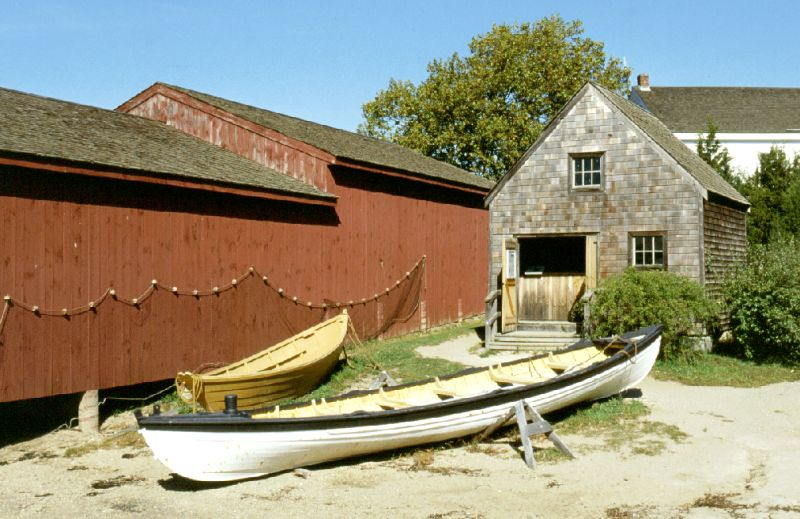 Mystic Seaport, Connecticut, 10/2001