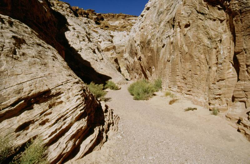 Little Wild Horse Canyon, 10/2003