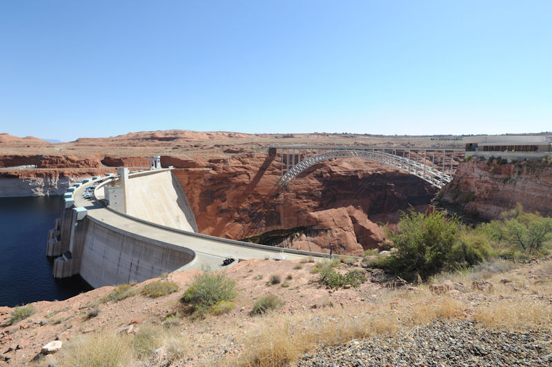 Glen Canyon Dam, 10.2017
