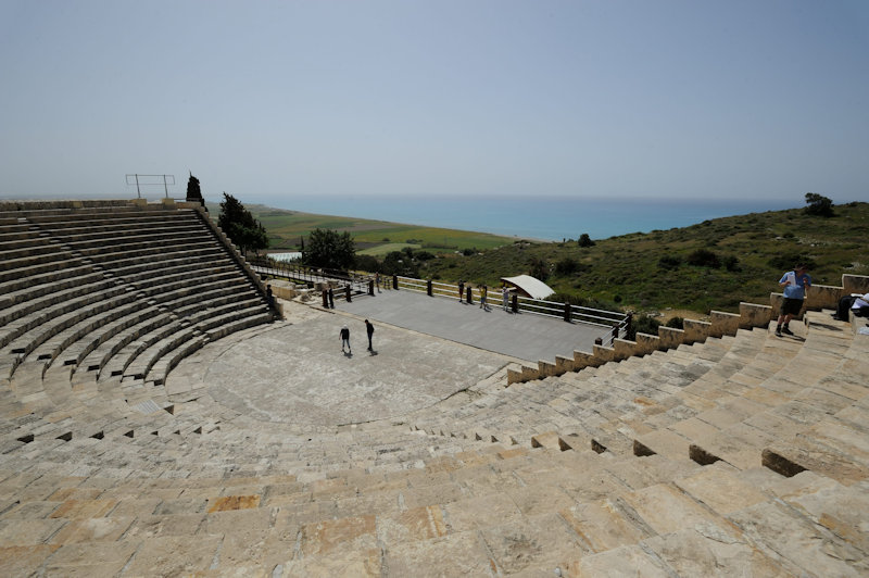 Kourion, Theater, 03.2018