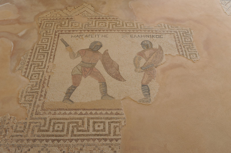 Kourion, House of Gladiators, 03.2018